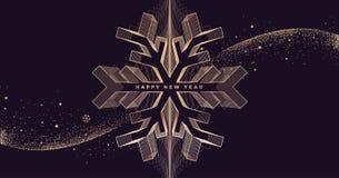 Ano novo feliz 2019 ilustração royalty free