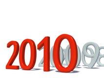 Ano novo feliz 2010 Fotografia de Stock