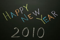 Ano novo feliz 2010 Foto de Stock Royalty Free