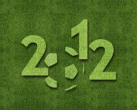 Ano novo feliz 2012 Imagens de Stock