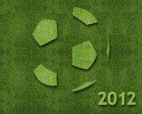 Ano novo feliz 2012 Fotografia de Stock Royalty Free