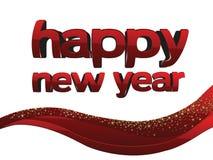 Ano novo feliz Fotografia de Stock