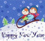 Ano novo feliz! Imagem de Stock Royalty Free