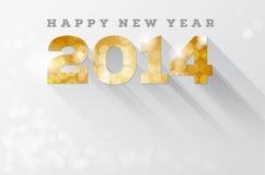 Ano novo feliz 2014 ilustração stock