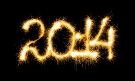 Ano novo feliz - 2014 Fotografia de Stock