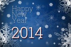 Ano novo feliz 2014 Imagem de Stock