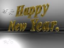 Ano novo feliz. Imagem de Stock Royalty Free