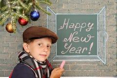 Ano novo feliz! Fotografia de Stock Royalty Free