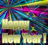 Ano novo feliz! ilustração stock