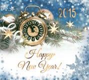Ano novo feliz 2015! Foto de Stock Royalty Free