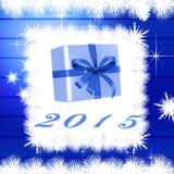 Ano novo feliz 2015 Imagens de Stock