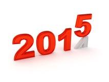 Ano novo feliz 2015 Imagens de Stock Royalty Free