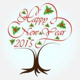Ano novo feliz 2015 Imagem de Stock