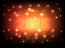 Ano novo feliz 2015_02 ilustração royalty free