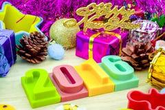 Ano novo feliz 2016 Foto de Stock Royalty Free