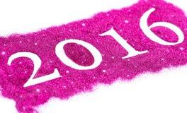 Ano novo feliz 2016 Imagens de Stock Royalty Free