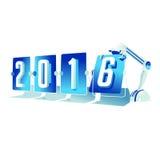Ano novo feliz 2016 Imagem de Stock