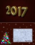 Ano novo feliz Fotos de Stock