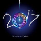 Ano novo feliz - 2017 Foto de Stock