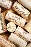 Ano novo feliz 2017 Imagem de Stock
