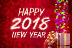 Ano novo feliz 2018 Fotos de Stock