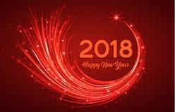 Ano novo feliz 2018 Imagens de Stock