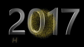 Ano novo feliz 2017 vídeos de arquivo