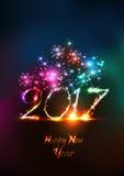 Ano novo feliz 2107 Foto de Stock