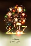 Ano novo feliz 2107 Imagem de Stock