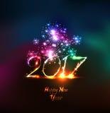 Ano novo feliz 2107 Imagens de Stock