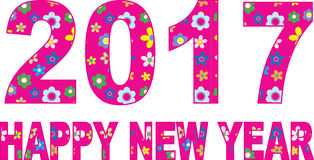Ano novo feliz Foto de Stock