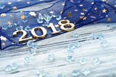 Ano novo feliz 2018 Fotos de Stock Royalty Free