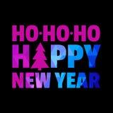 ano novo feliz 2007 Ano novo feliz Feliz Natal Imagens de Stock Royalty Free