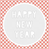 Ano novo feliz card4 de cumprimento Imagem de Stock Royalty Free
