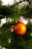 ano novo feliz das decorações da Natal-árvore Imagem de Stock Royalty Free