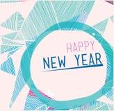 Ano novo feliz de 2014 Foto de Stock Royalty Free