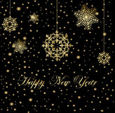 Ano novo feliz do Feliz Natal Fotografia de Stock