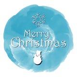 Ano novo feliz do Feliz Natal fundo do cartão de 2018 invernos com desenhos animados bonitos Ilustração do vetor Foto de Stock