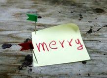Ano novo feliz 2014 e Feliz Natal Fotografia de Stock Royalty Free