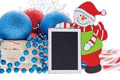 Ano novo feliz e Feliz Natal Fotos de Stock