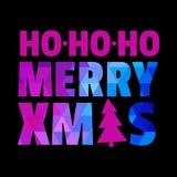 Ano novo feliz Feliz Natal Fotografia de Stock Royalty Free