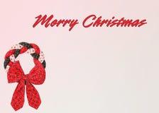 Ano novo feliz Grinalda do Natal postcard imagem de stock
