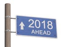 Ano novo feliz 2018 ano novo feliz 2007 ilustração 3D Foto de Stock