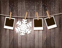 Ano novo feliz 2016! Molde do projeto do ano novo Fotografia de Stock