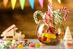 ano novo feliz 2007 Feliz Natal e ano novo feliz 2018 E matizado Imagens de Stock