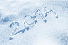 Ano novo gelado Fotos de Stock
