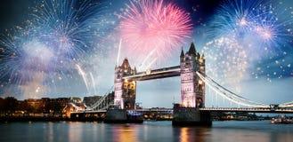 Ano novo na cidade Fotos de Stock