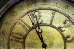 Ano novo na meia-noite Fotografia de Stock