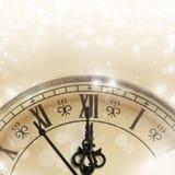 Ano novo na meia-noite Imagem de Stock