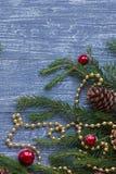 Ano novo ou papel de parede do Natal Imagens de Stock